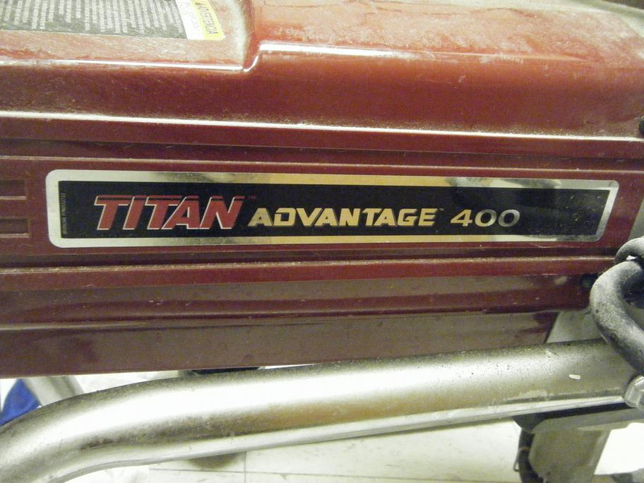 Airless Sprayer Titan Advantage 400 Electric Piston Pump